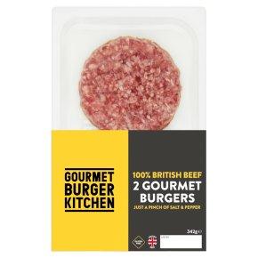 Gourmet Burger Kitchen 2 Gourmet Beef Burgers
