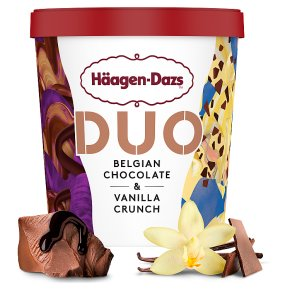 Häagen-Dazs Duo Chocolate & Vanilla Ice Cream