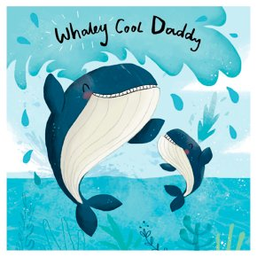 Whaley Cool Fathers Day Card