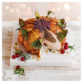 Christmas pudding Turkey