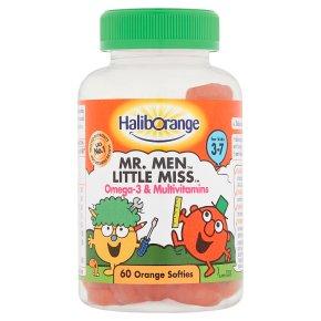Haliborange Mr Men Omega-3 Mutlivitamin
