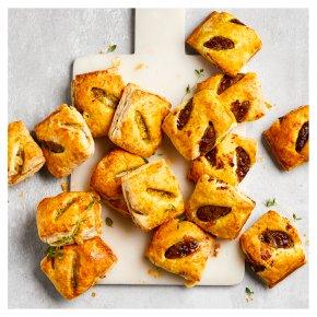 16 Vegan Puff Pastry Rolls