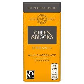 Green & Black's butterscotch