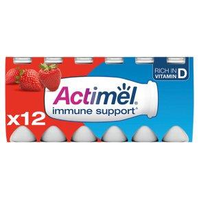 Actimel Strawberry Yogurt Drinks