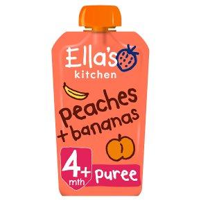 Ella's Kitchen Peaches + Bananas
