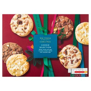 Waitrose Christmas Cookie Selection