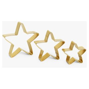 John Lewis Core Star Cookie Cutters