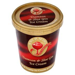 Just Rachel Damson & Sloe Gin Ice Cream