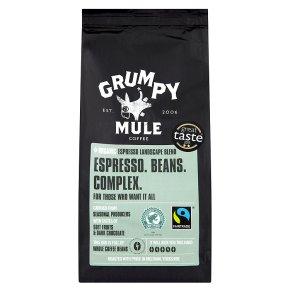 Grumpy Mule fairtrade coffee espresso