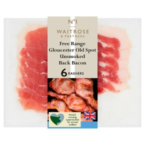 No.1 Gloucester Old Spot Unsmoked Back Bacon