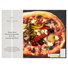 No.1 Roasted Vegetable & Pesto Sourdough Pizza