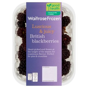 Waitrose British Blackberries