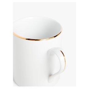 John Lewis Anyday Gold Band Mug