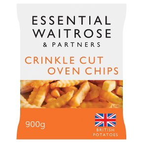 Essential Crinkle Cut Oven Chips