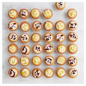 36 Mini Cupcakes