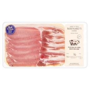 Maynards Farm traditional dry cured back bacon
