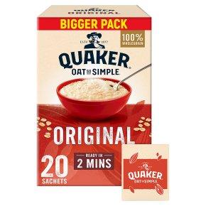 Quaker Oat So Simple Original 22 Porridge Sachets