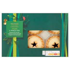 Waitrose Christmas Vegan Mince Pies