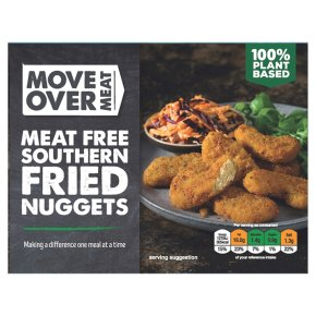 Move Over Meat Meat Free Southern Fried Nuggets