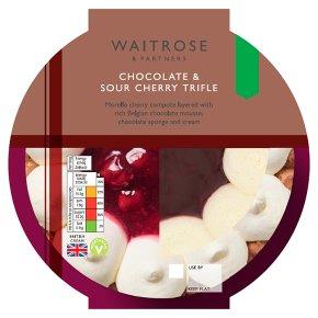 Waitrose Chocolate & Sour Cherry Trifle