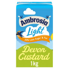 Ambrosia Light Devon Custard