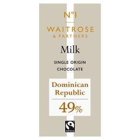 No.1 Dominican Republic Milk Chocolate 49%