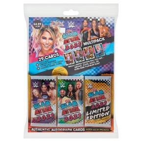 WWE Slam Attax 2021 Multipack
