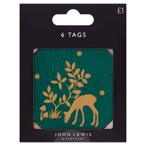 John Lewis Woodland Gift Tags
