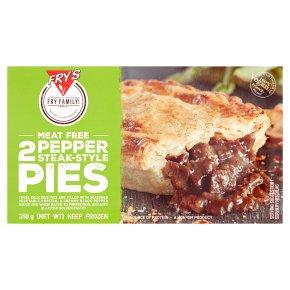Fry's Meat Free 2 Pepper Steak Style Pies