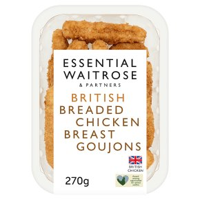 Essential Breaded Chicken Breast Goujons