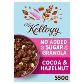 W.K Kellogg Cocoa & Hazelnut Granola