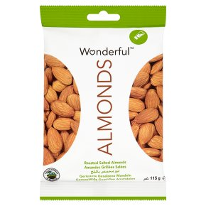Wonderful almonds roasted salted