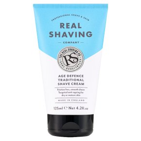 Real Shaving Company Age Defence Shave