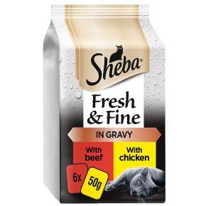 Sheba Fresh Choice Succulent Collection Chicken, Beef & Duck