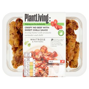 Plantlife: Crispy No Beef with Sweet Chilli Sauce