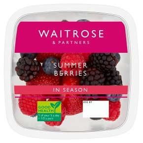 Waitrose Summer Berries