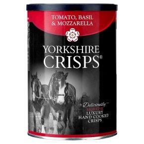 Yorkshire Crisps tomato, basil & mozzarella