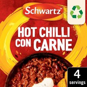 Schwartz Recipe Mix Hot Chilli Con Carne