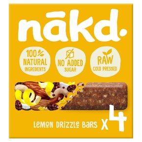 Nakd Lemon Drizzle Wholefood Bars