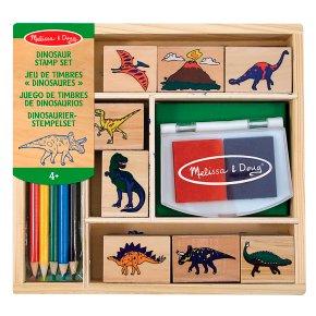 M&D Dinosaur Stamp Set
