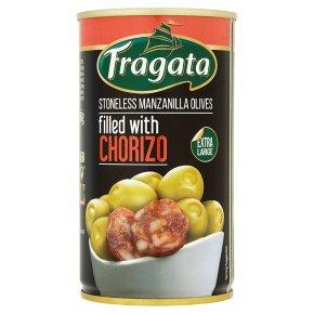Fragata Olives with Chorizo