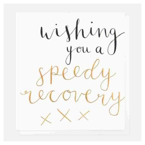 Speedy Recovery Get Well Card