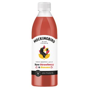 Mockingbird Raw Strawberry & Banana Smoothie
