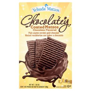 Yehuda Coated Matzot Chocolate Flavor