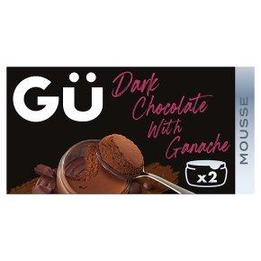 Gü Dark Chocolate Mousses with Genache