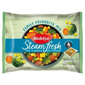 Birds Eye Steamfresh Family Favourite Mix 4 Bags
