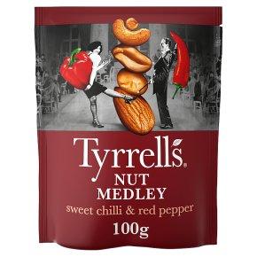 Tyrrells Nut Medley Sweet Chilli & Red Pepper