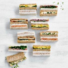 Finger Sandwich Platter, 18 pieces