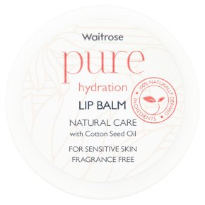 Waitrose Pure Hydration Lip Balm