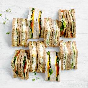 Vegetarian Sandwich Platter, 24 pieces